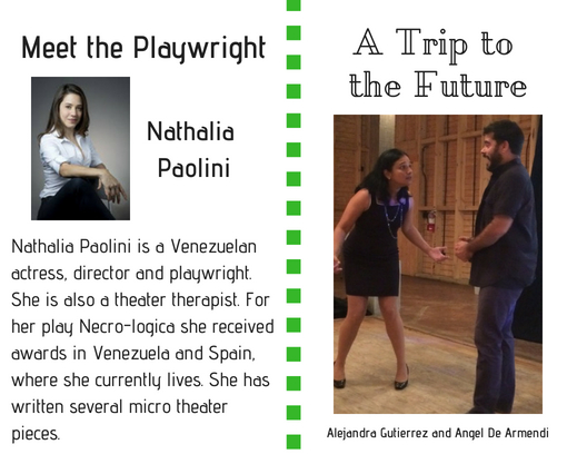 Meet the playwright Trip